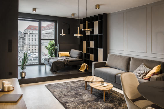 Apartment with AQForm lighting in Wrocław