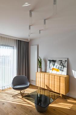 Zoned lighting in the interior design