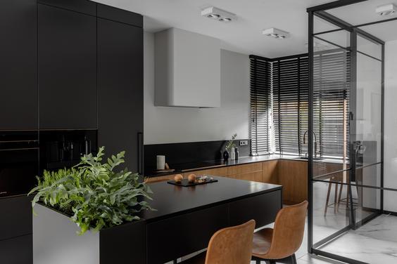 Well-lit modern interior