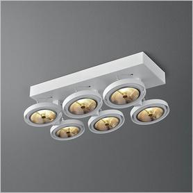 Lighting AQForm (Aquaform) BARES 111x6 SL spot