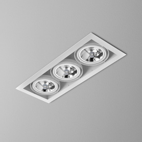 Lighting AQForm (Aquaform) SQUARES 111x3 recessed