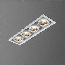 Lighting AQForm (Aquaform) SQUARES 111x4 recessed