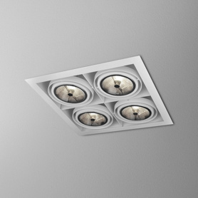 Lighting AQForm (Aquaform) SQUARES 111x4 SQ recessed