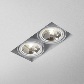 Lighting AQForm (Aquaform) SQUARES 111x2 trimless recessed