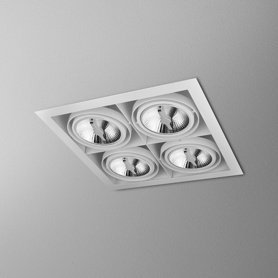 Lighting AQForm (Aquaform) SQUARES 111x4 SQ 230V recessed