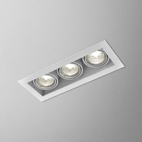 Lighting AQForm (Aquaform) SQUARES 50x3 recessed