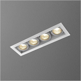 Lighting AQForm (Aquaform) SQUARES 50x4 recessed