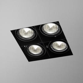 Lighting AQForm (Aquaform) SQUARES 50x4 SQ trimless recessed