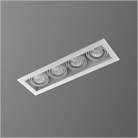 Lighting AQForm (Aquaform) SQUARES 50x4 230V recessed