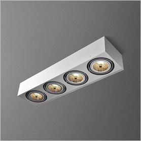 Oświetlenie AQForm (Aquaform) SQUARES 111x4 natynkowy
