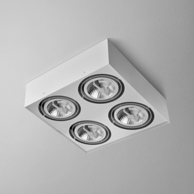 Lighting AQForm (Aquaform) SQUARES 111x4 SQ 230V surface