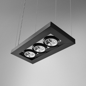 Lighting AQForm (Aquaform) CADVA 111x3 suspended