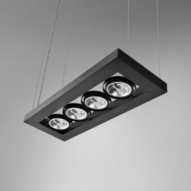 Lighting AQForm (Aquaform) CADVA 111x4 suspended