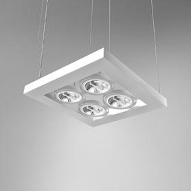 Lighting AQForm (Aquaform) CADVA 111x4 SQ suspended