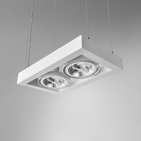 Lighting AQForm (Aquaform) CADRA 111x2 230V suspended