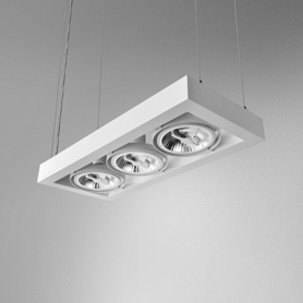 Lighting AQForm (Aquaform) CADRA 111x3 230V suspended