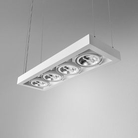 Lighting AQForm (Aquaform) CADRA 111x4 230V suspended