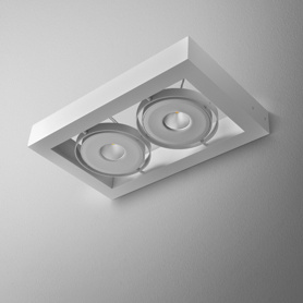 Lighting AQForm (Aquaform) CADRA 111x2 QRLED 230V wall
