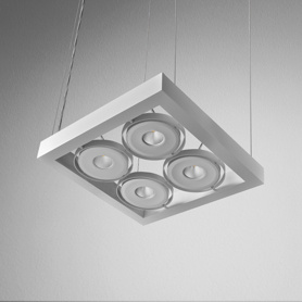Lighting AQForm (Aquaform) CADRA 111x4 SQ QRLED 230V suspended