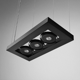 Lighting AQForm (Aquaform) CADVA 111x3 QRLED suspended