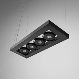 Lighting AQForm (Aquaform) CADVA 111x4 QRLED suspended