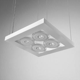 Lighting AQForm (Aquaform) CADVA 111x4 SQ QRLED suspended