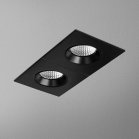 Lighting AQForm (Aquaform) HOLLOW x2 square move LED recessed