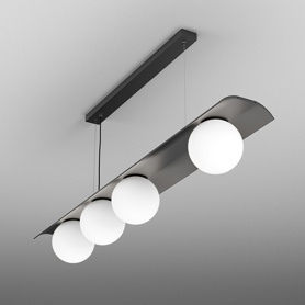 Lighting AQForm (Aquaform) MODERN BALL WP x4 LED asymmetry suspended