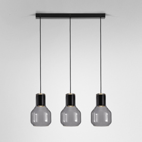 Lighting AQForm (Aquaform) MODERN GLASS Barrel GU10 x3 suspended