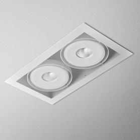 Lighting AQForm (Aquaform) SQUARES 111x2 QRLED recessed