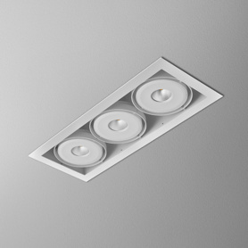 Lighting AQForm (Aquaform) SQUARES 111x3 QRLED 230V recessed