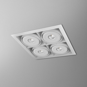 Lighting AQForm (Aquaform) SQUARES 111x4 SQ QRLED 230V recessed