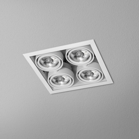 Lighting AQForm (Aquaform) SQUARES 50x4 LED SQ recessed