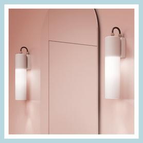 AQForm (Aquaform) MODERN GLASS Tube LED hermetic wall