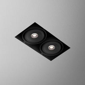 AQForm (Aquaform) SQUARES 70x2 QRLED lens 230V trimless recessed