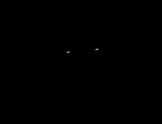 Poglądowy rysunek wymiarowy oprawy MG1225