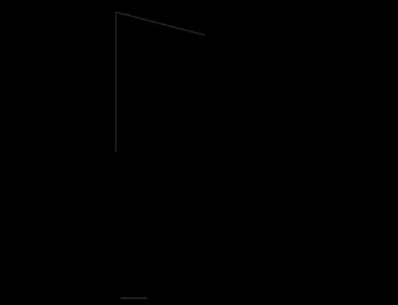 Poglądowy rysunek wymiarowy oprawy P11815