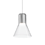 MODERN GLASS Flared LED 230V suspended